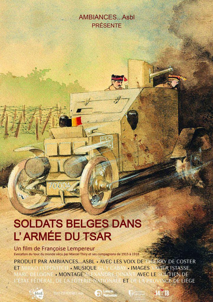 Soldats Belges dans l'armée du Tsar