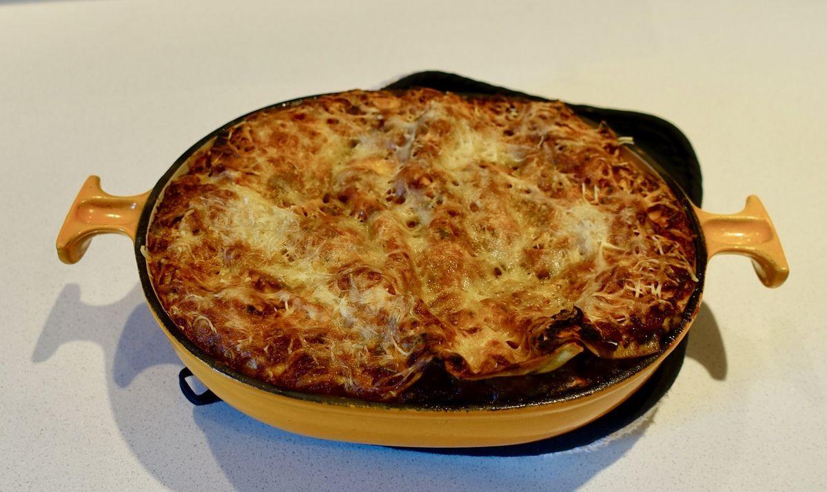Lasagnes courgettes et aubergines