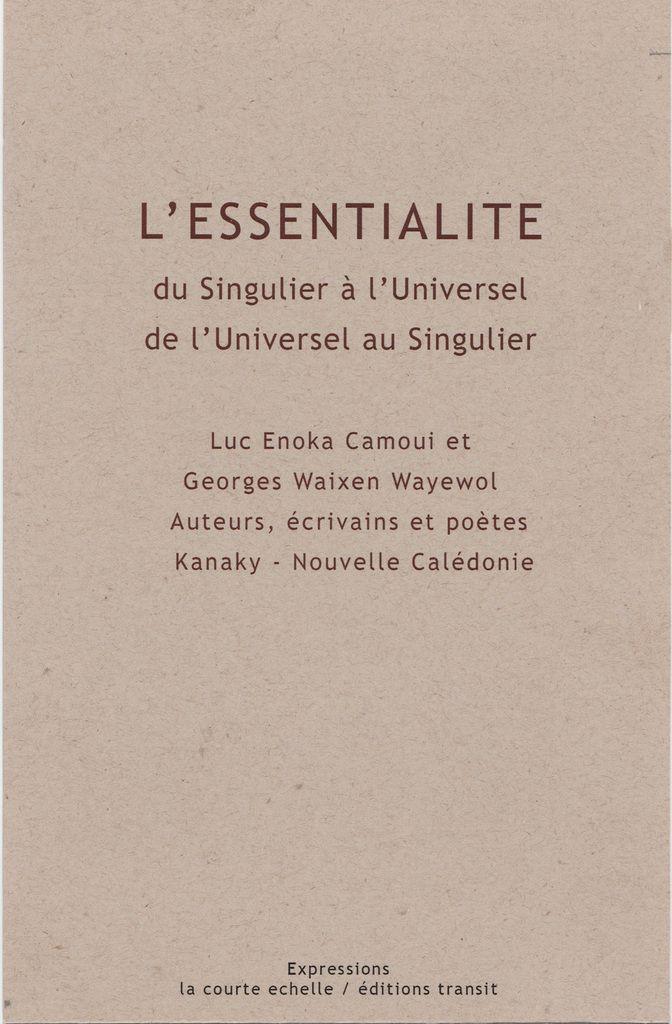 Marseille. L'Essentialité,  présentation et lectures à la librairie transit