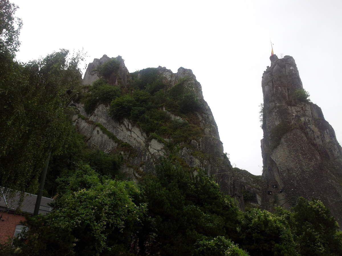 """Le rocher aux Corneilles dans le massif """"du grand Bon Dieu"""""""