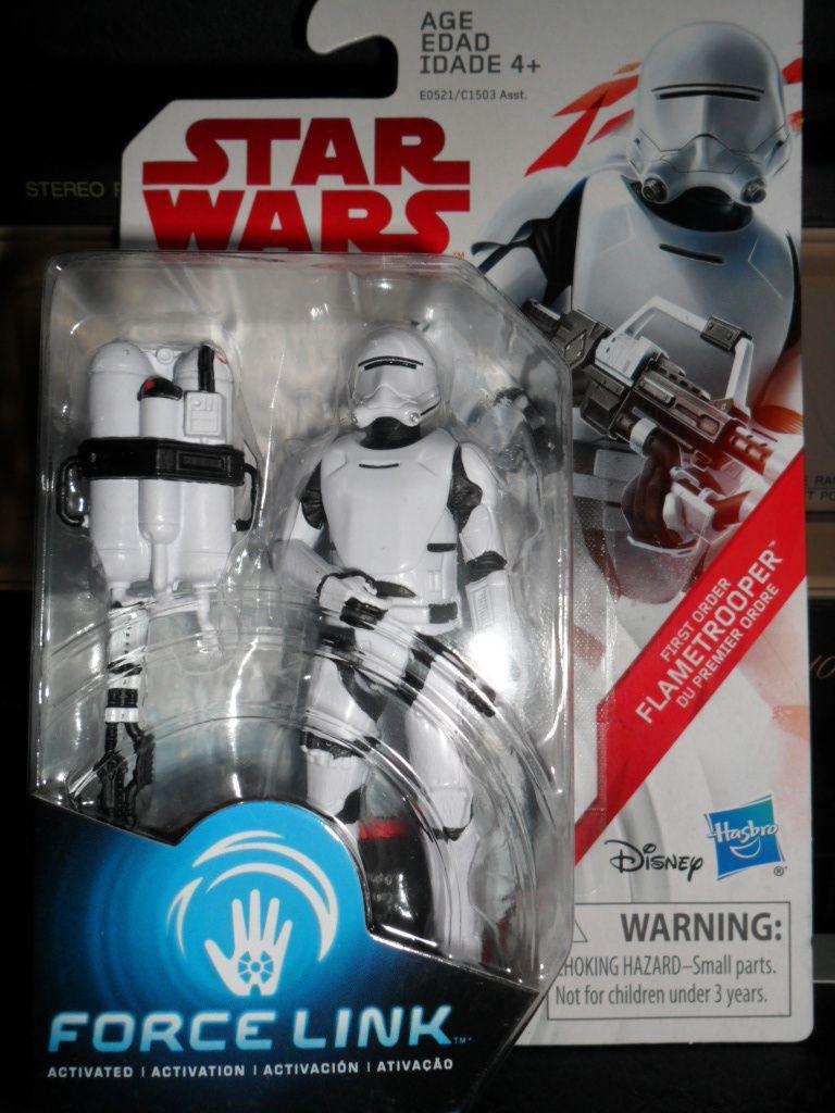Star Wars Force Link le dernier Jedi de premier ordre flametrooper