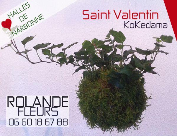 fleurs pour la Saint Valentin ou pour la Saint Valentine aux halles de Narbonne dans l'Aude en Languedoc Roussillon
