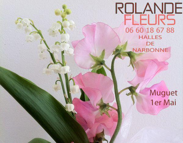 bouquet brin de muguet Narbonne rolande fleuriste