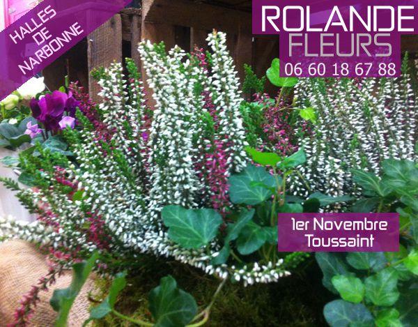 Bouquet pour la Toussaint 1er novembre