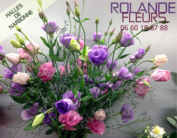 Rolande halles de Narbonne, votre fleuriste.