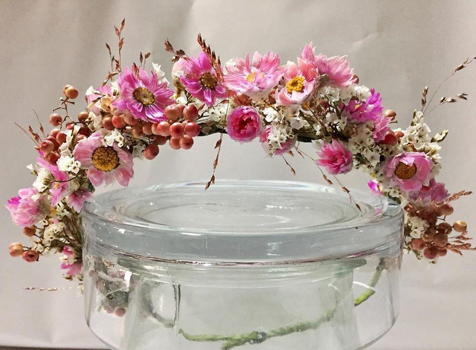 fleurs séchées chez Rolande fleuriste à Narbonne
