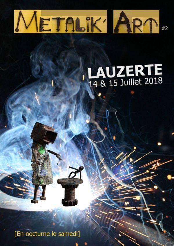 Metallik'art 14/15 juillet Lauzerte
