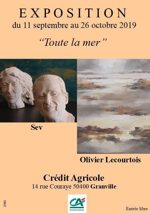 """""""Toute la Mer"""" C.A de Granville du 11 septembre au 25 octobre..."""