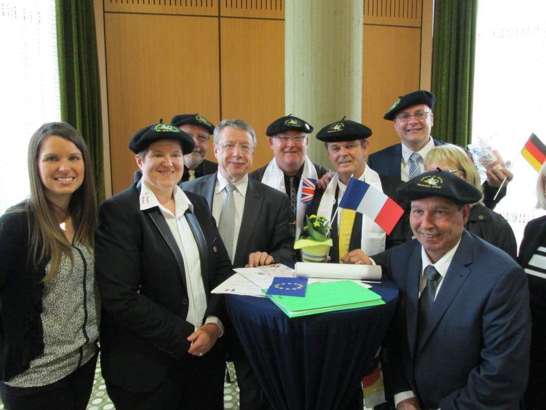 Wattrelos-Eschweiler : 40 ans d'une évidente amitié !