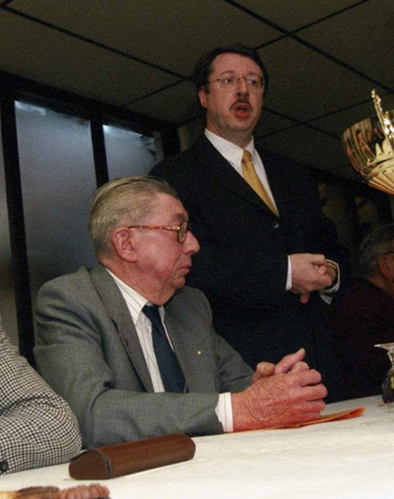 Roland Merlin a rejoint son copain Roland Lévêque au Panthéon des sportifs et bénévoles wattrelosiens !