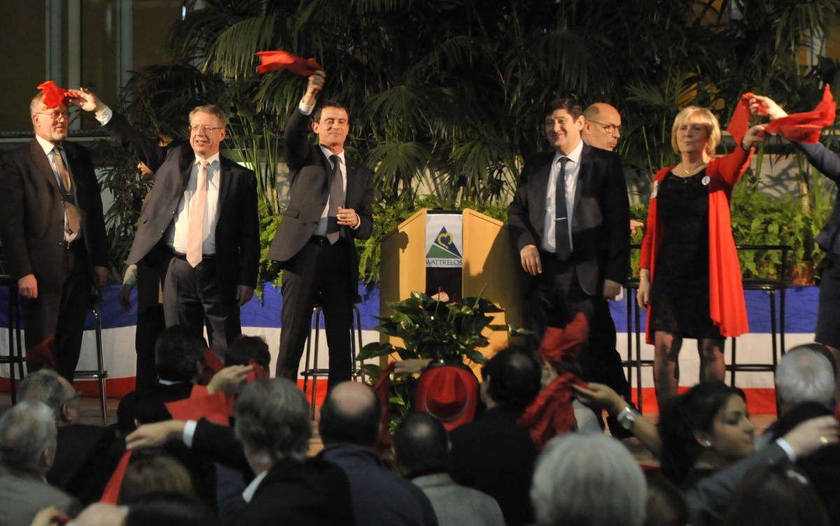"""Fête de la Rose (2) : Manuel Valls veut """"faire réussir la gauche"""" !"""