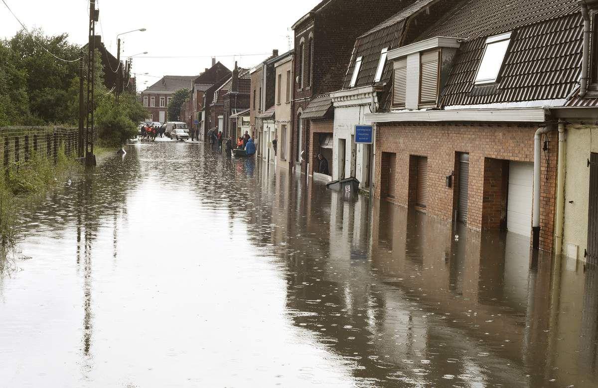 Wattrelos durement touchée par les inondations