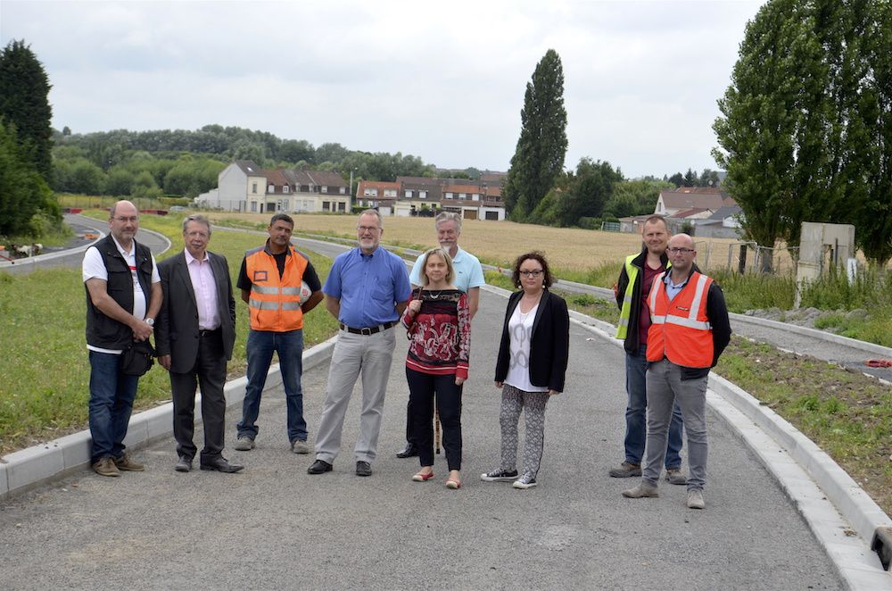 Travaux 2016 (3) : Au giratoire Saint Liévin, ça va rouler le 8 août !