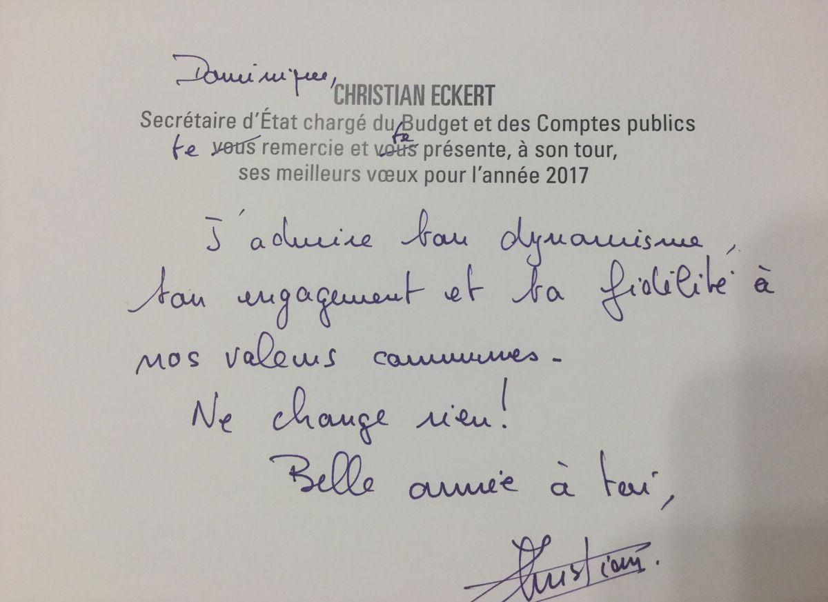 """Des voeux qui font plaisir : """"Ne change rien !"""""""