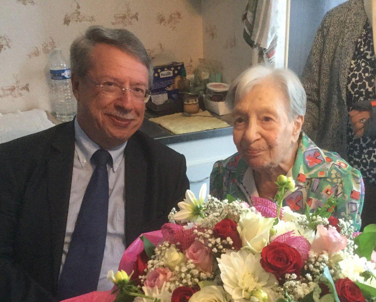 Alfreda a 103 ans : Très Bon Anniversaire !