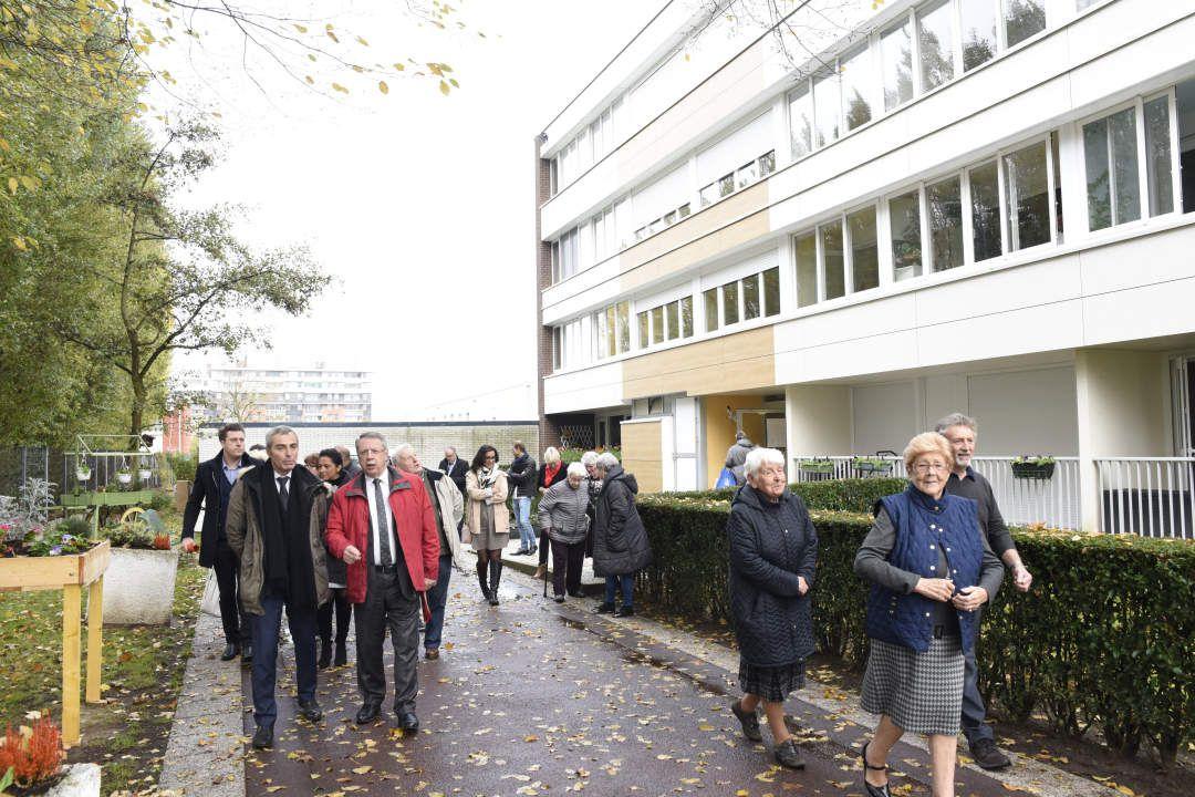 La résidence Van der Meersch modernisée… et inaugurée !