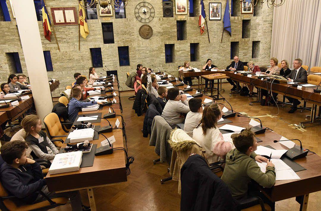 Le nouveau Conseil municipal des enfants installé !