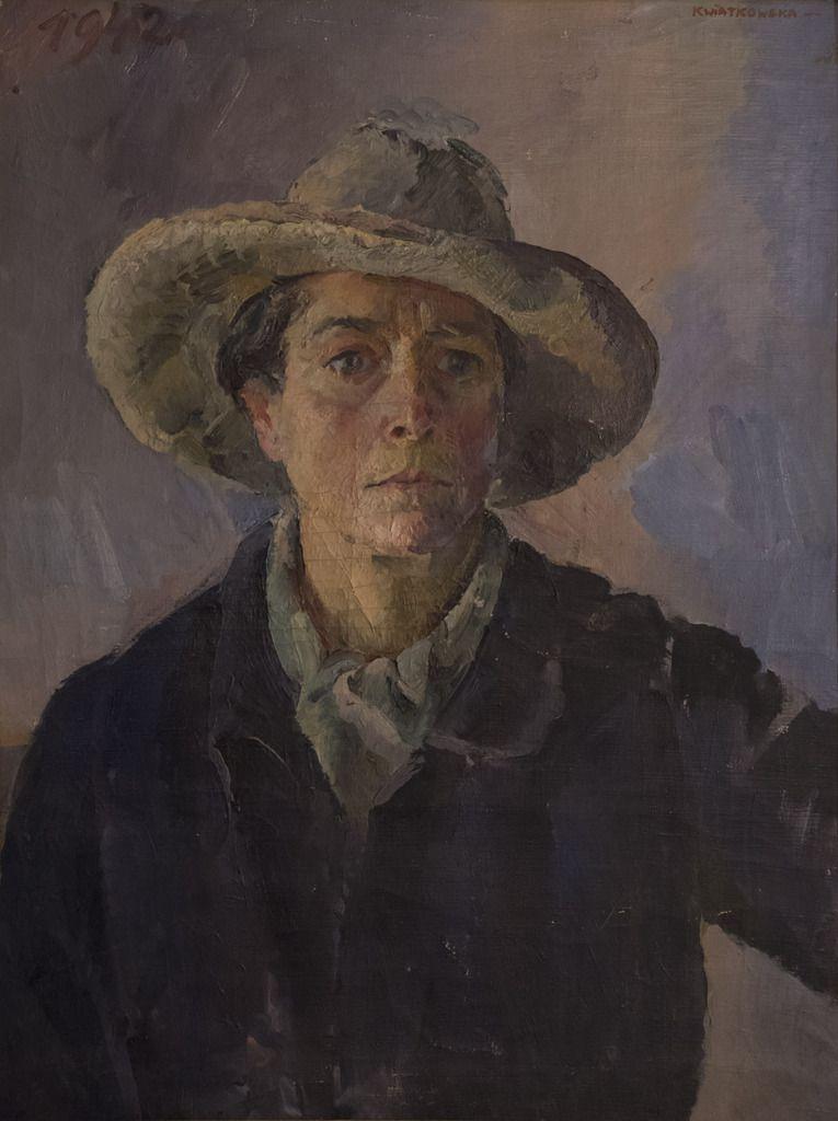 Autoportrait, 1942, huile sur toile, 72 x 54 cm.