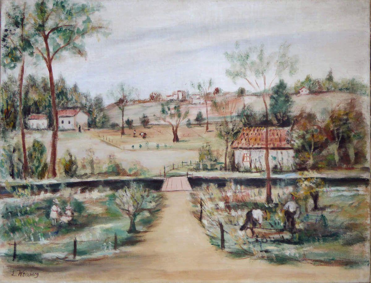 Le petit pont II, 1929
