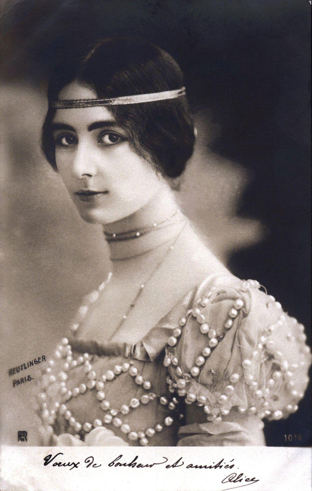 La danseuse Cléopâtre-Diane de Mérode