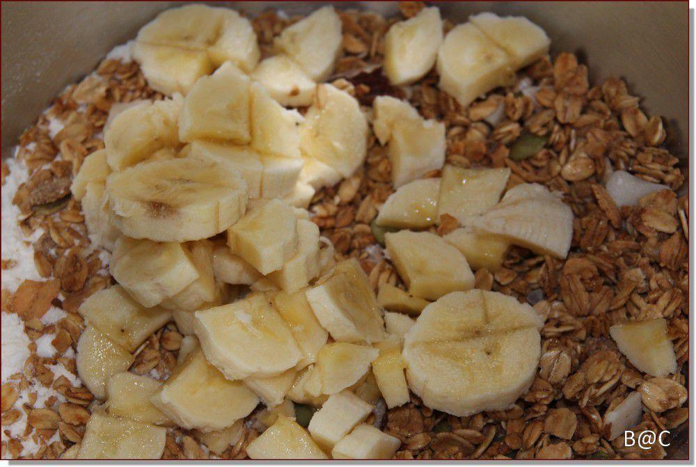 Cookies Choco-banane de Martha Stewart