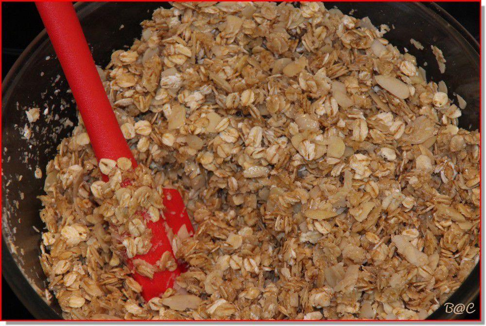 Mon premier granola maison...