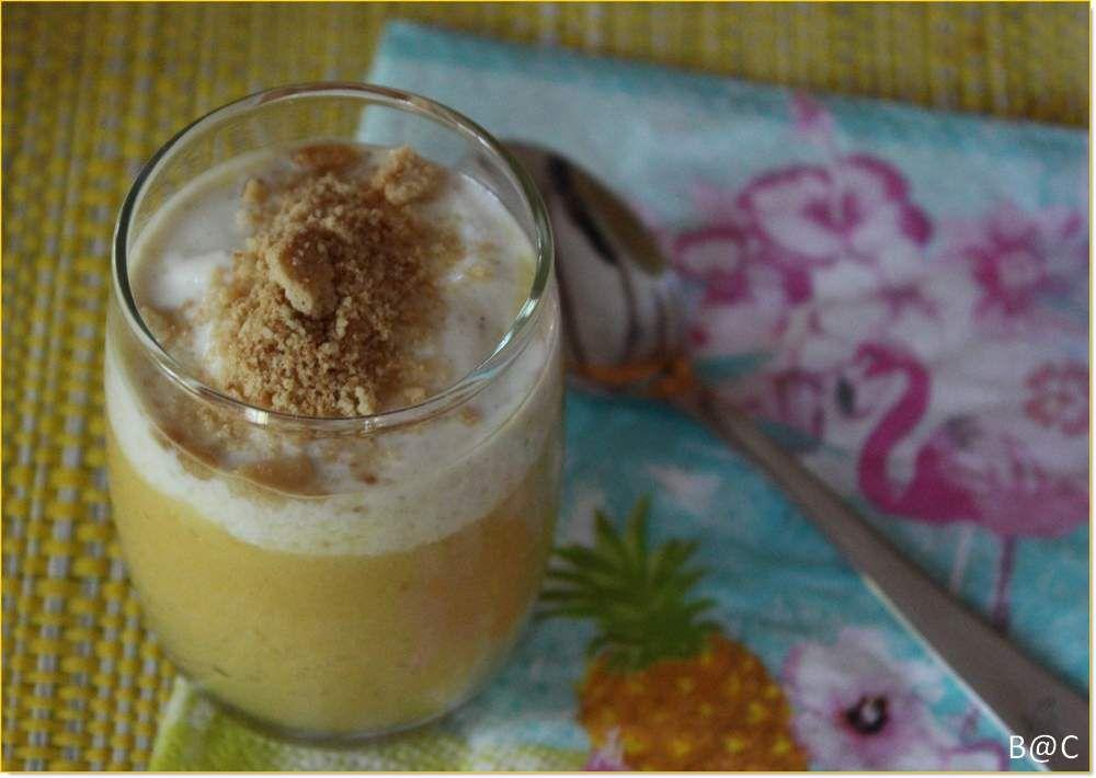 Capuccino d'ananas