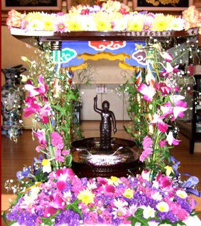 Fête des Fleurs au Japon