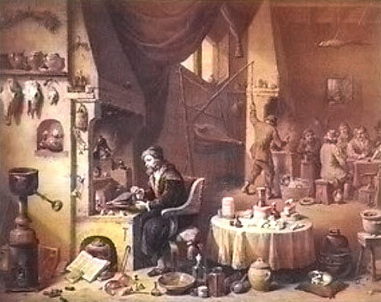 L'Alchimiste de Teniers