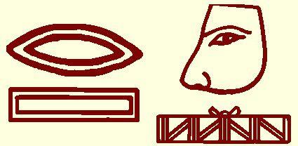 Les Hiéroglyphes dans le Nez