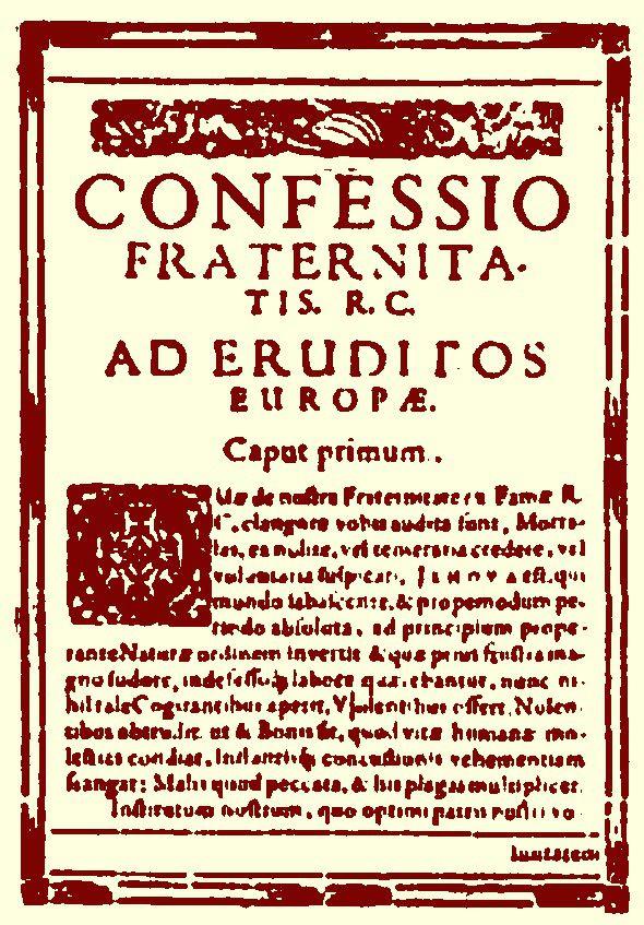 Confessio Tabernae Rosae Crucis 1