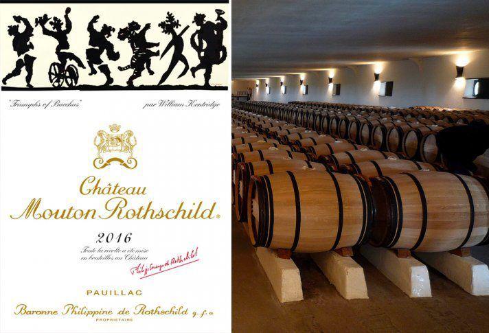 « Mouton Rothschild, William Kentridge signe l'étiquette du millésime 2016 »