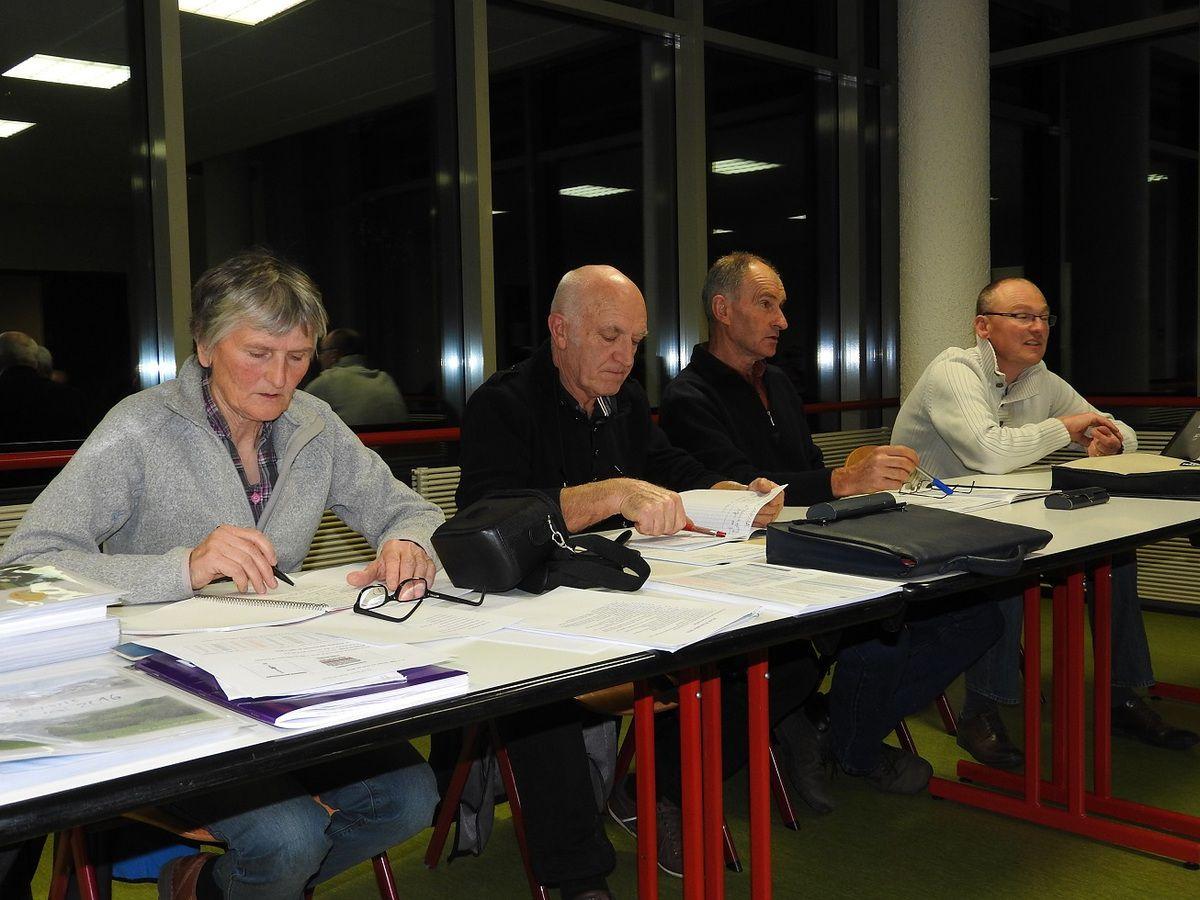 Annick, Jean-Paul, Patrick et Olivier.