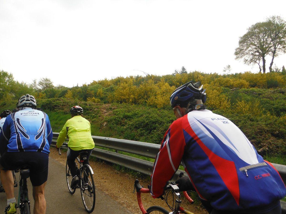 Sur la route du Breton.