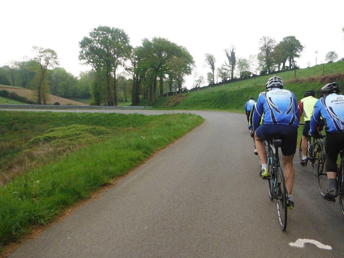 Toujours sur la route du Breton à l'amorce du fer à cheval.