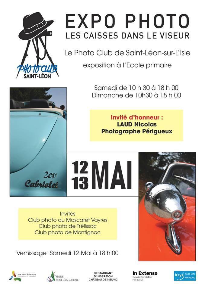 expo photo st Léon sur l'Isle 12 et 13 mai
