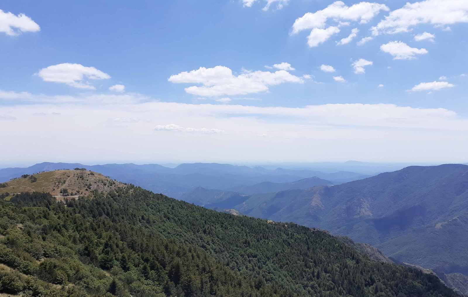Un petit tour au Mont Aigoual en traction