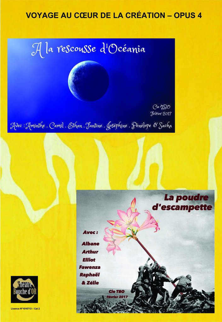 Voyage au coeur de la création - Opus 4