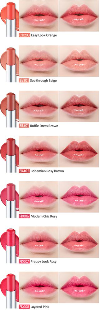 Review: Etude House Glass Tinting Lips Talk in Bohemian Rosy Brown BR402