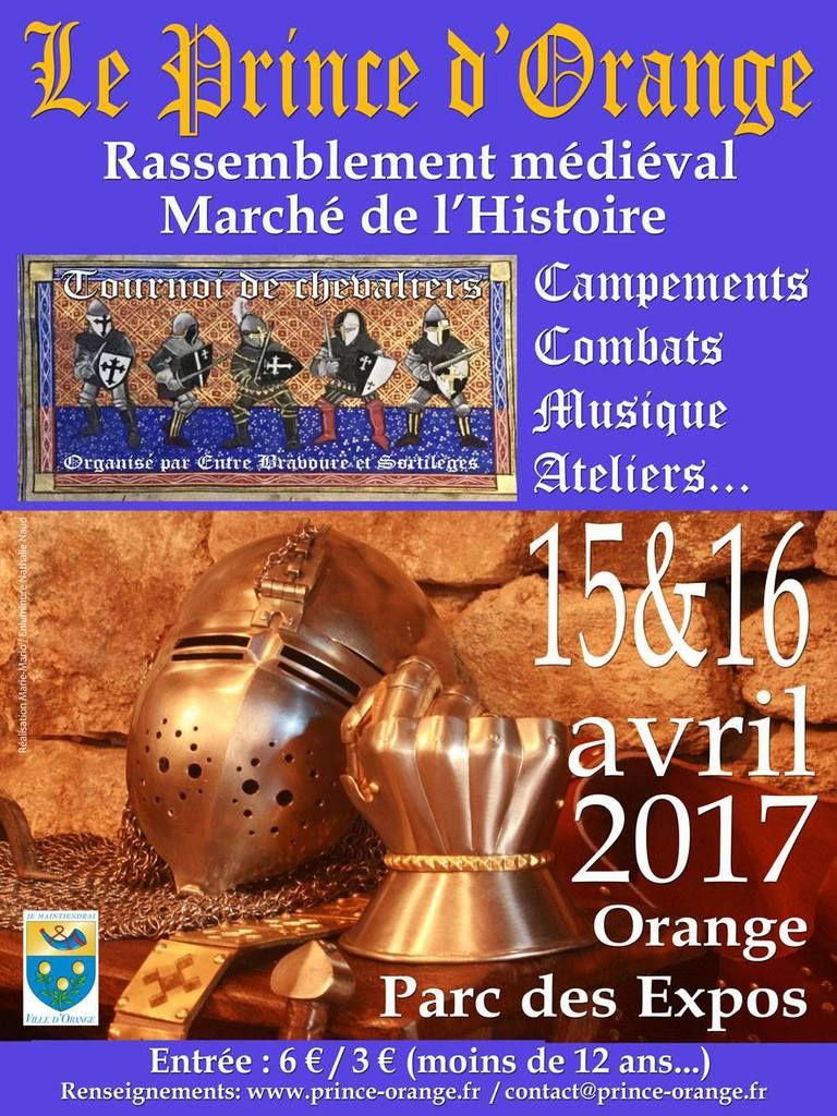 Marché de l'Histoire Orange 2017