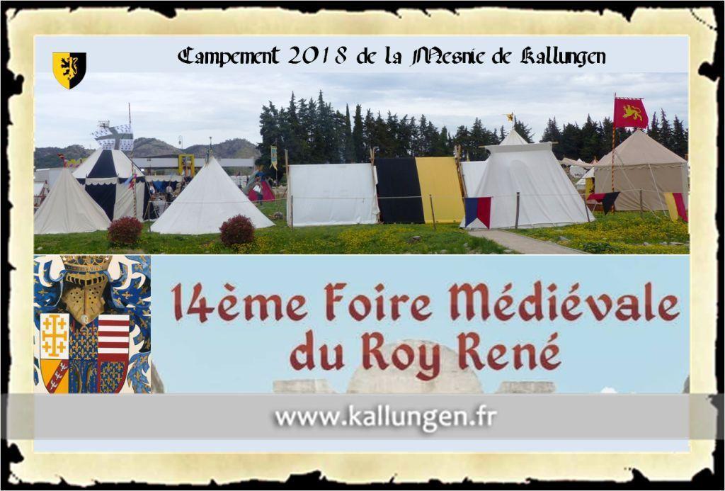 14ème Foire du Roi René Peyrolles 2018