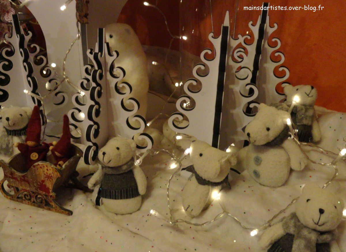 """MA DECORATION INTERIEURE DE NOEL"""