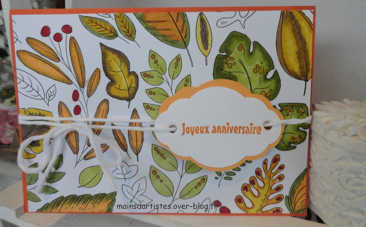 """ATELIERS""""STAMPIN BLENDS"""""