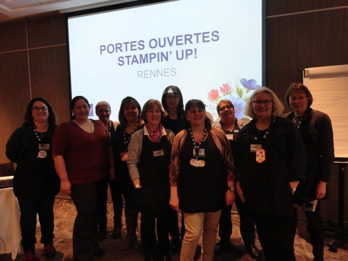 FORMATION STAMPIN'UP ,RENNES.