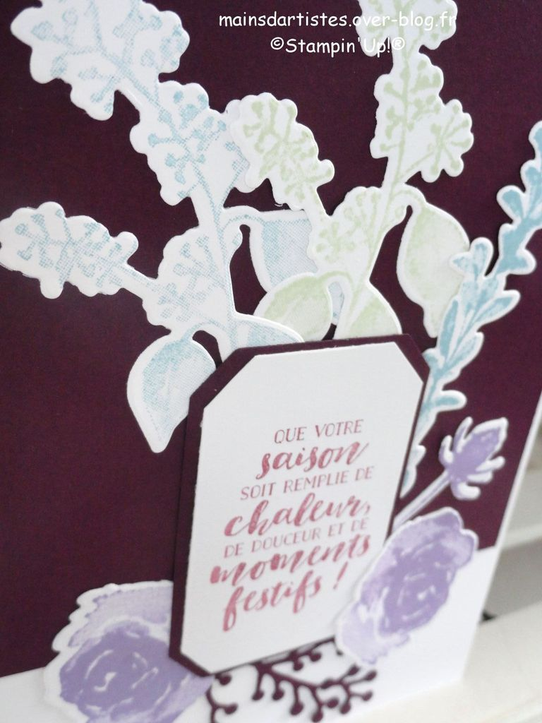 BLANC DE GIVRE,STAMPIN'UP!.