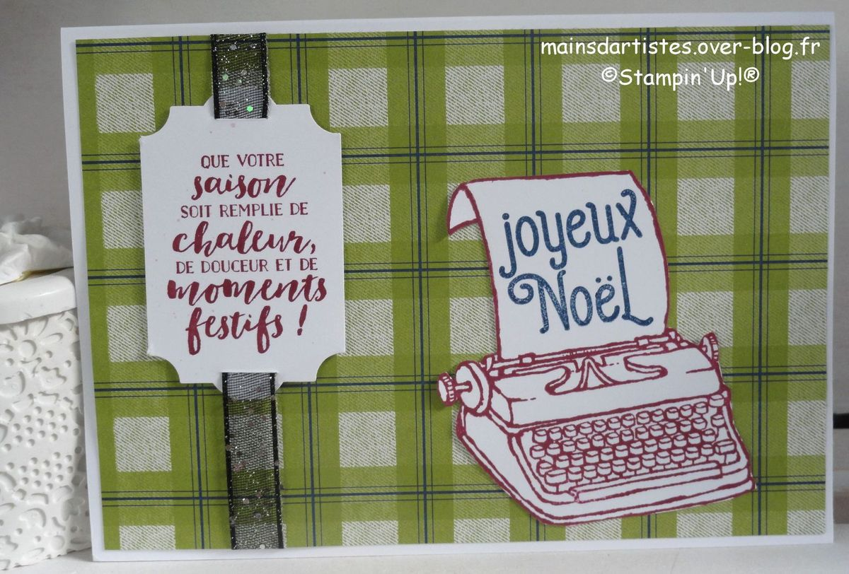 YOU'RE THE BEST ,STAMPIN'UP!.