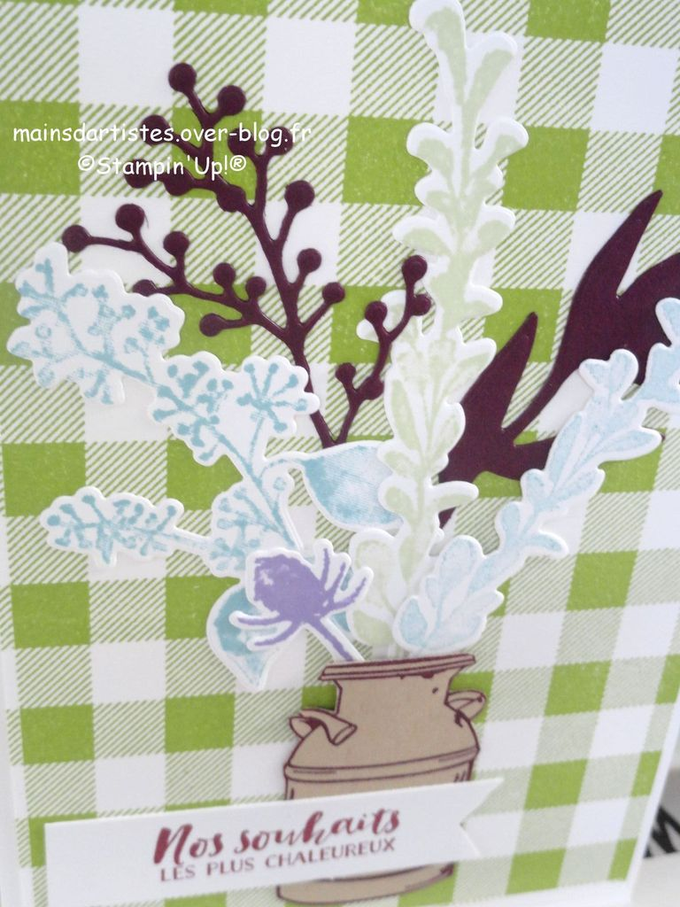 FLEURS GLACEES,STAMPIN'UP!.