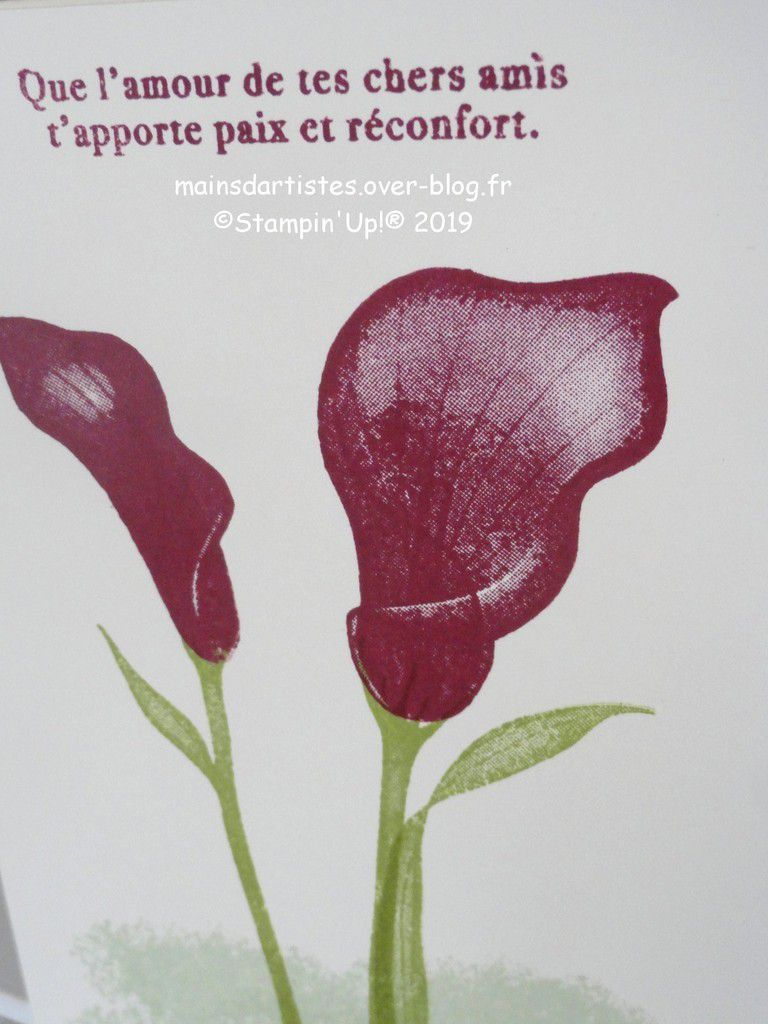 CALLA ETERNELLE, STAMPIN'UP!.