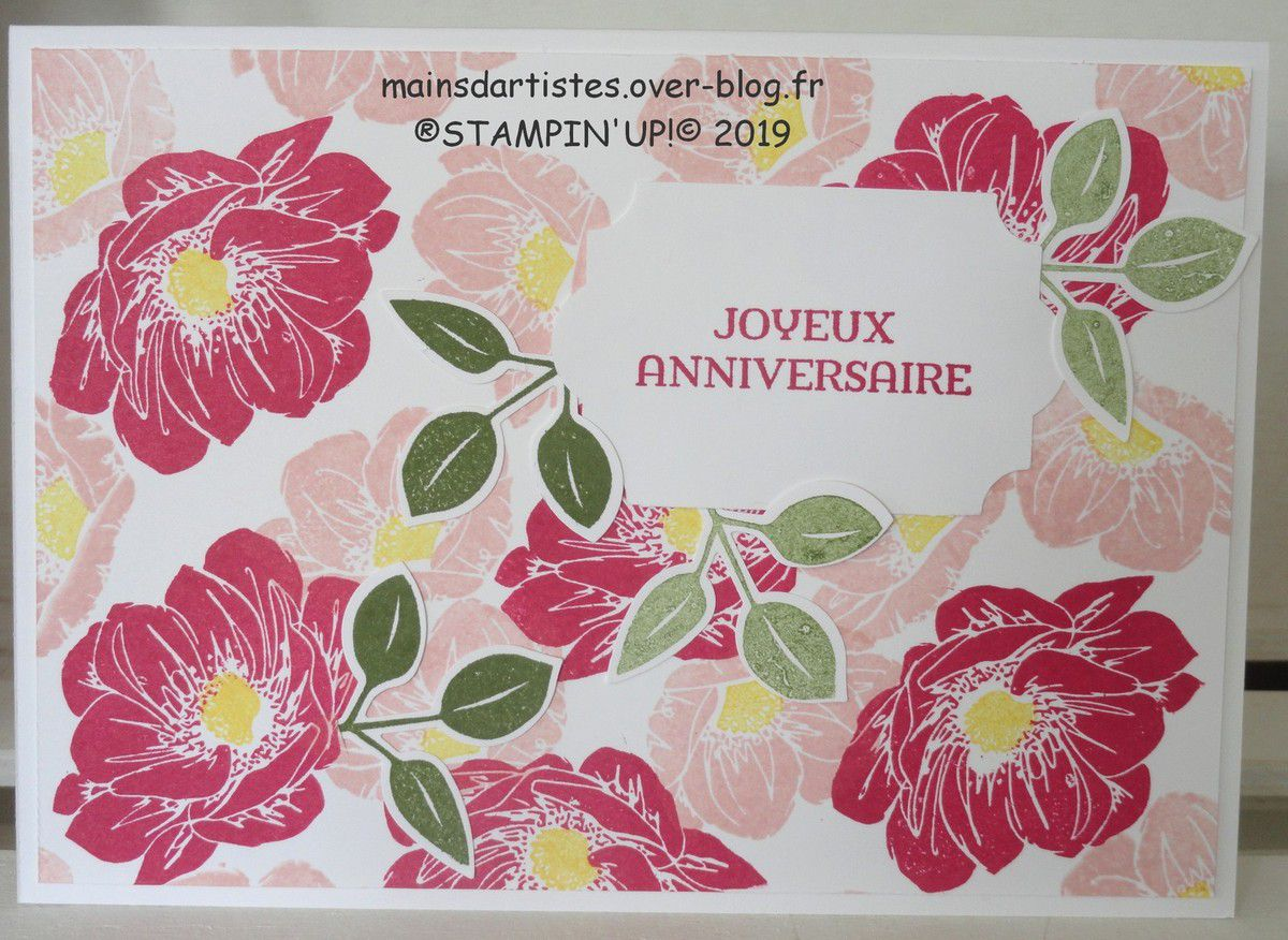 ESSENCE FLORALE,STAMPIN'UP!.