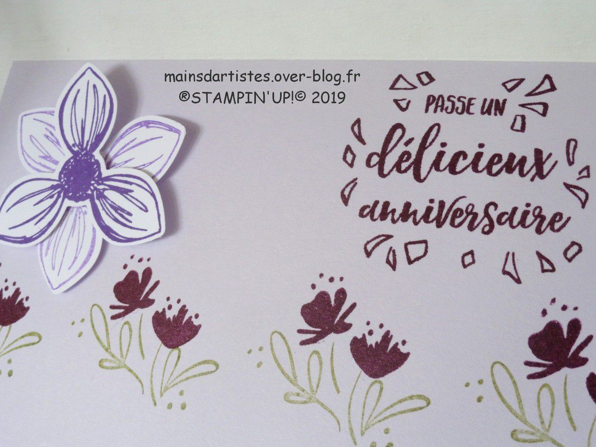 JOURNEE DELICIEUSE,STAMPIN'UP!.